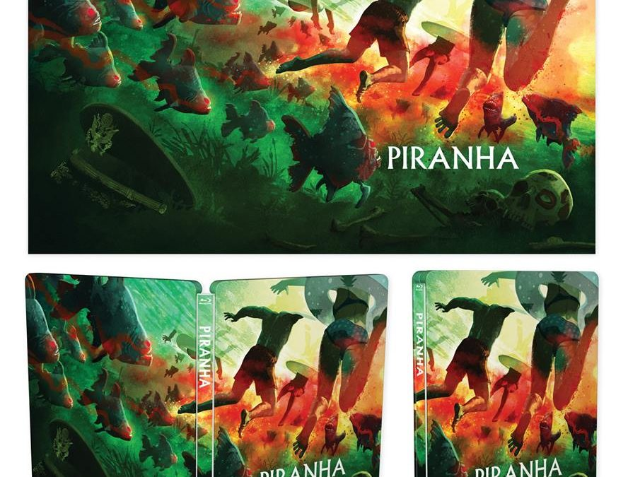 PIRANHA STEELBOOK NOW AVAILABLE