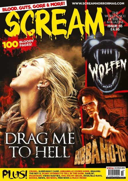 SCREAM MAG #55 W/SLEEPAWAY CAMP DOC ARTICLE NOW AVAILABLE