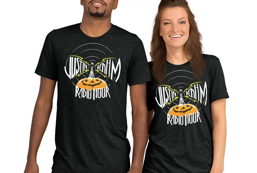 JUSTIN BEAHM RADIO HOUR T-SHIRTS NOW AVAILABLE