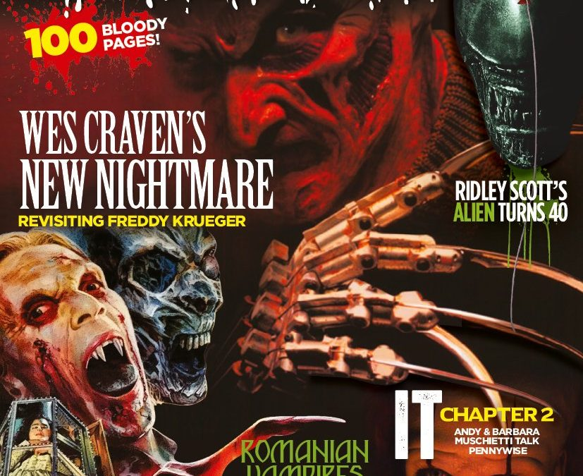SCREAM MAG 56 W/ TED NICOLAOU INTERVIEW AVAILABLE FOR PRE-ORDER