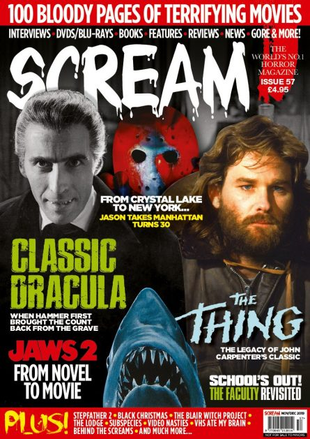 SCREAM MAGAZINE #57 COVER REVEAL & PRE-ORDER