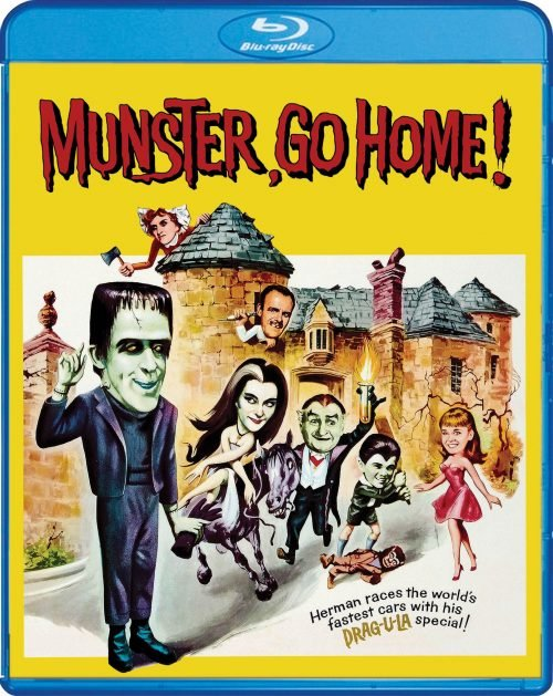 MUNSTER GO HOME! BLU-RAY NOW AVAILABLE