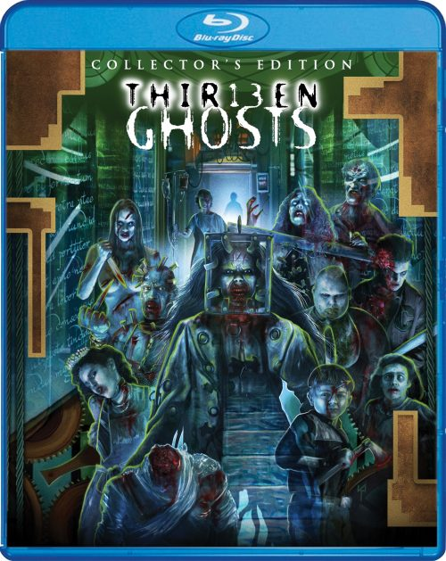 THIRTEEN GHOSTS SPECIAL FEATURES ANNOUNCED