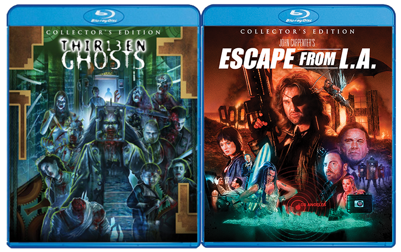 RELEASE DATE UPDATES FOR THIRTEEN GHOSTS AND ESCAPE FROM LA