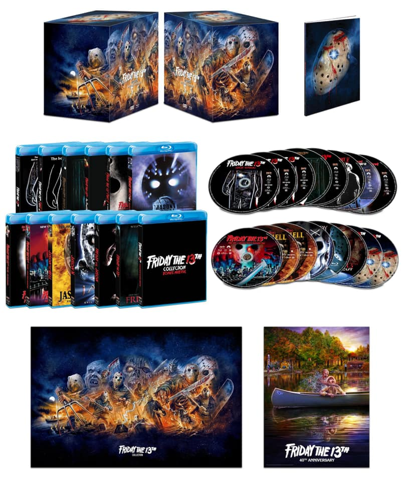 FRIDAY THE 13TH SERIES BOX FROM SCREAM FACTORY ANNOUNCED