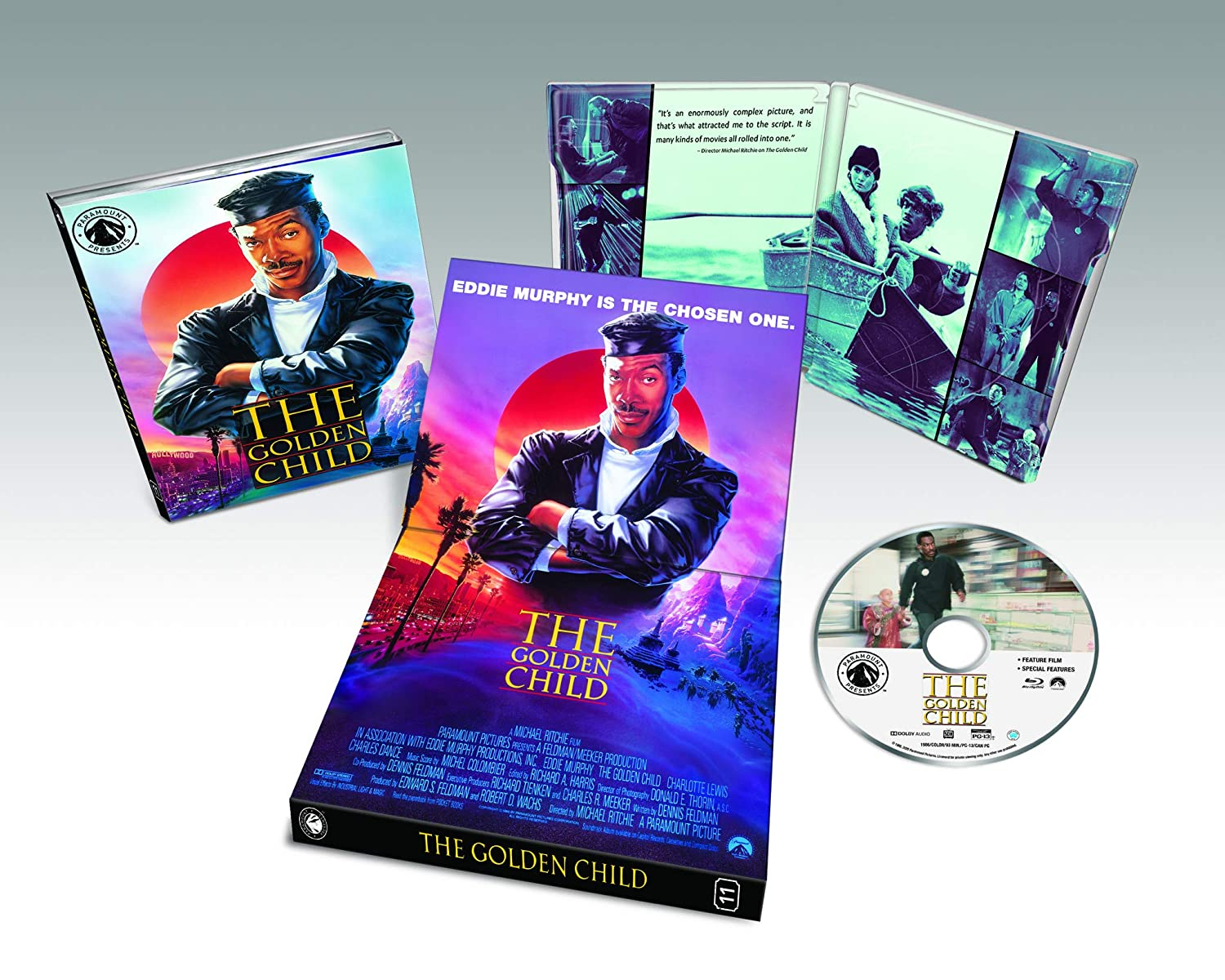 THE GOLDEN CHILD NOW AVAILABLE AS PART OF THE PARAMOUNT PRESENTS LINE