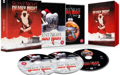 SILENT NIGHT, DEADLY NIGHT 1 & 2 BOX SET AVAILABLE IN UK FROM 101 FILMS