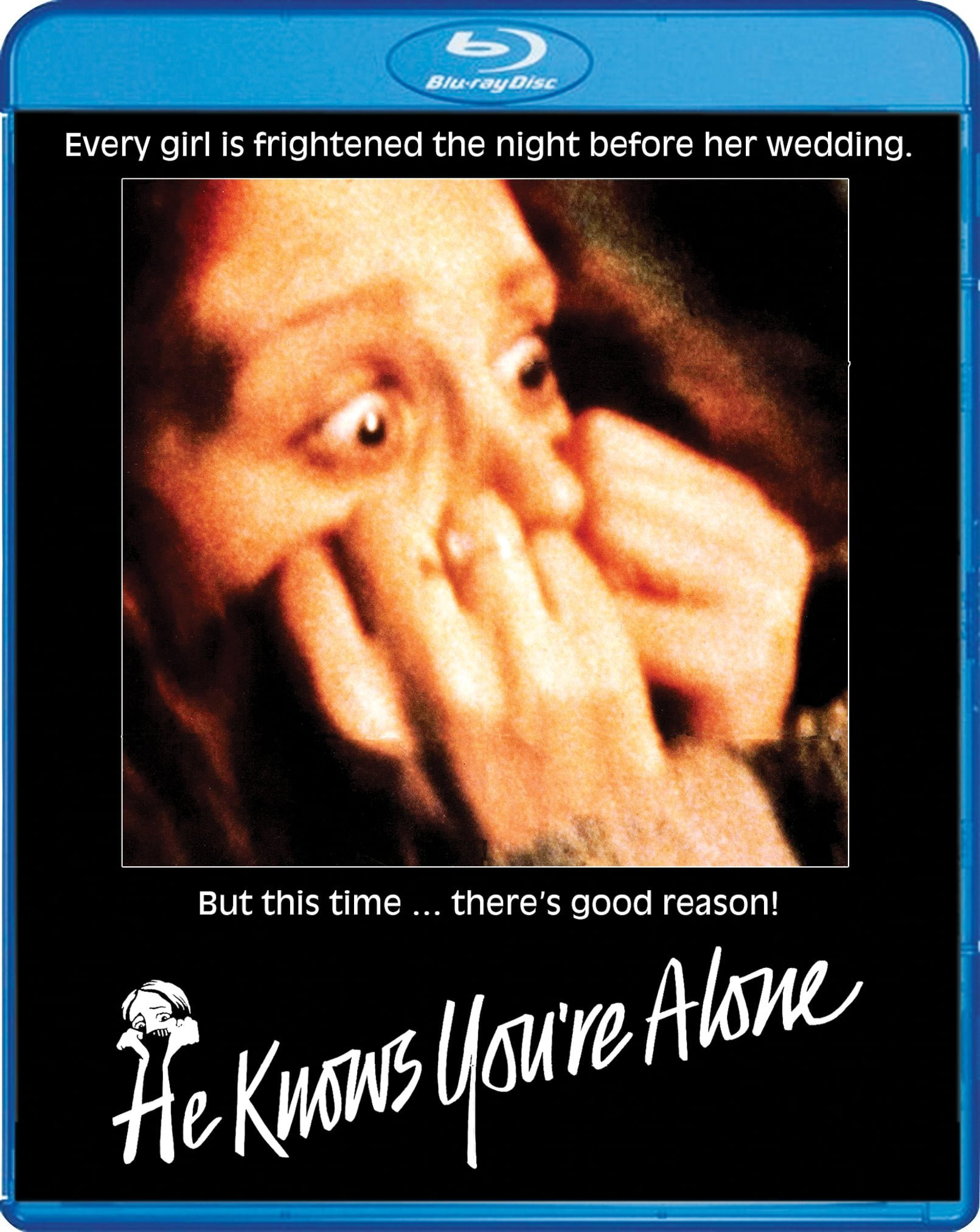 HE KNOWS YOU'RE ALONE NOW AVAILABLE FROM SHOUT! FACTORY