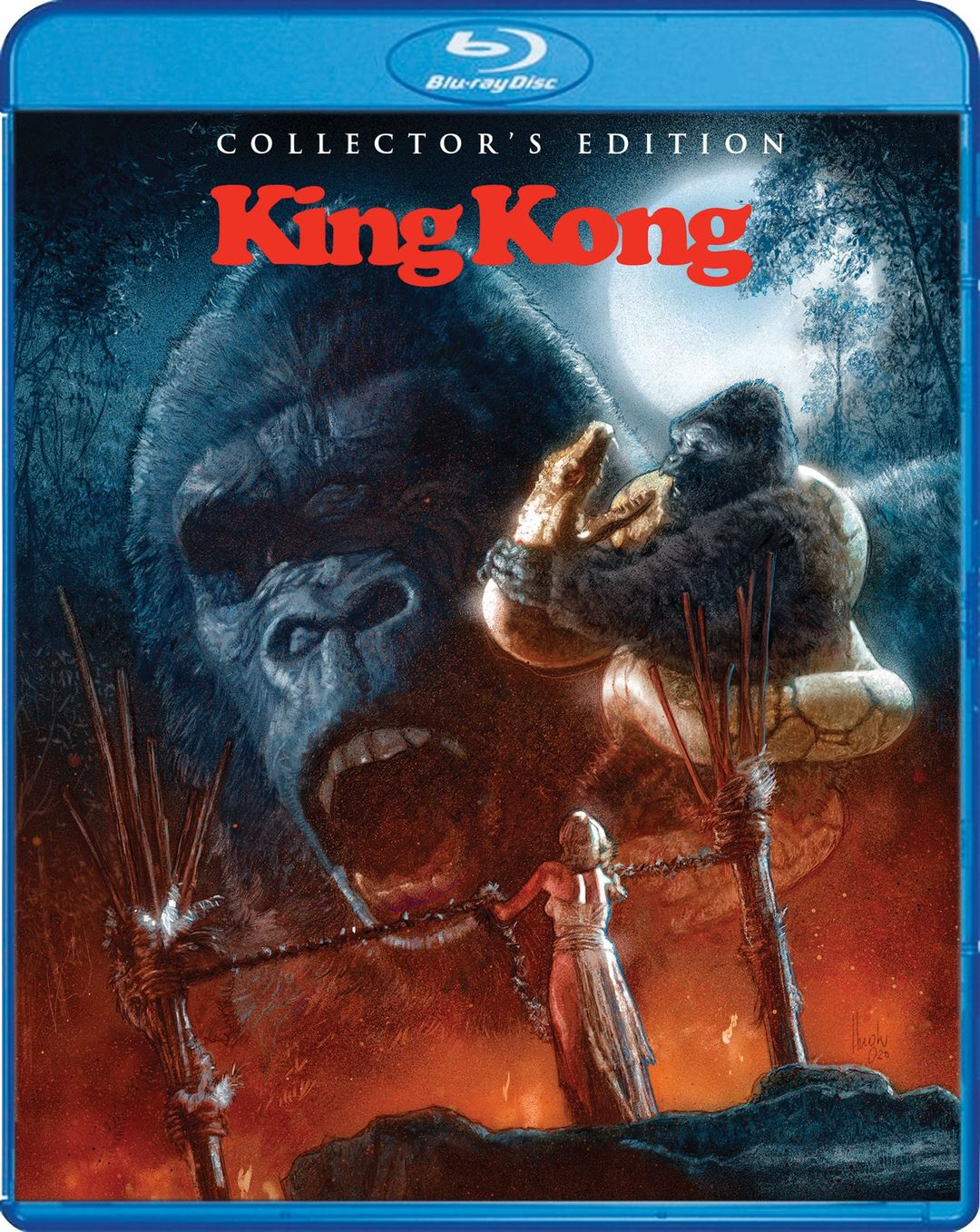KING KONG COLLECTOR'S EDITION NOW AVAILABLE FROM SCREAM FACTORY