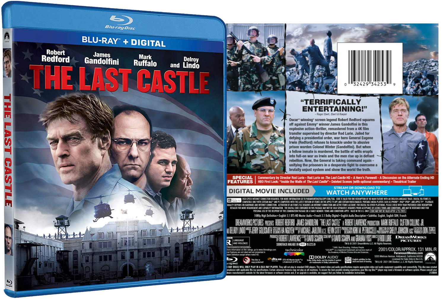 THE LAST CASTLE SPECIAL FEATURES UNVEILED