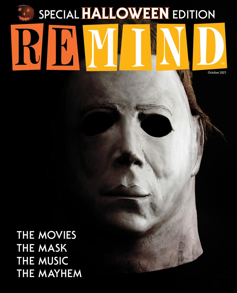 ALL-HALLOWEEN OCTOBER ISSUE OF TV GUIDE'S REMIND MAGAZINE ON NEWSSTANDS NOW