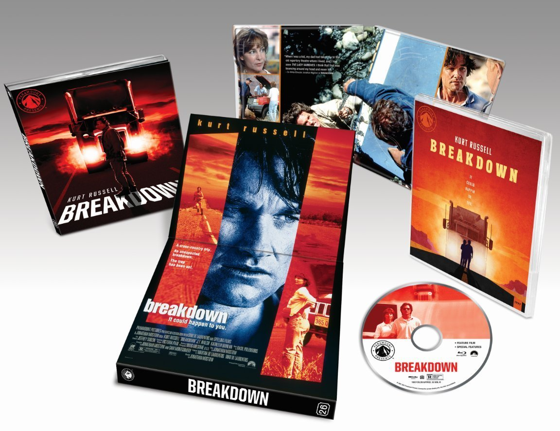 BREAKDOWN ANNOUNCED AS PART OF PARAMOUNT PRESENTS BLU-RAY LINE