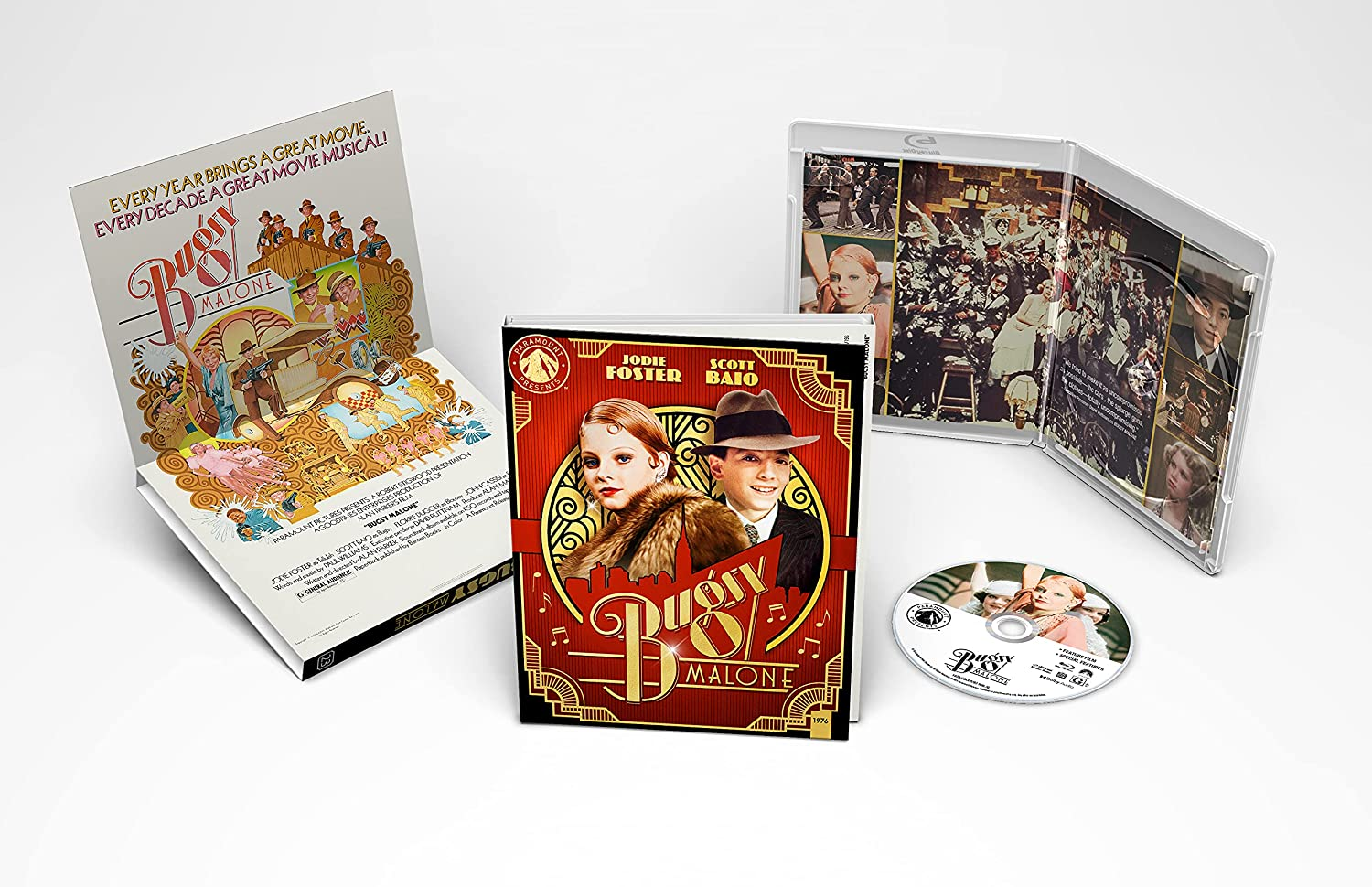 BUGSY MALONE NOW AVAILABLE ON PARAMOUNT PRESENTS BLU-RAY