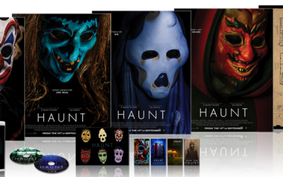 HAUNT ARRIVING ON 2-DISC COLLECTOR'S EDITION BLU-RAY THIS OCTOBER